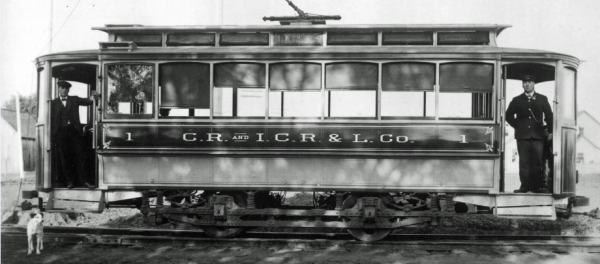 Early CRANDIC train car