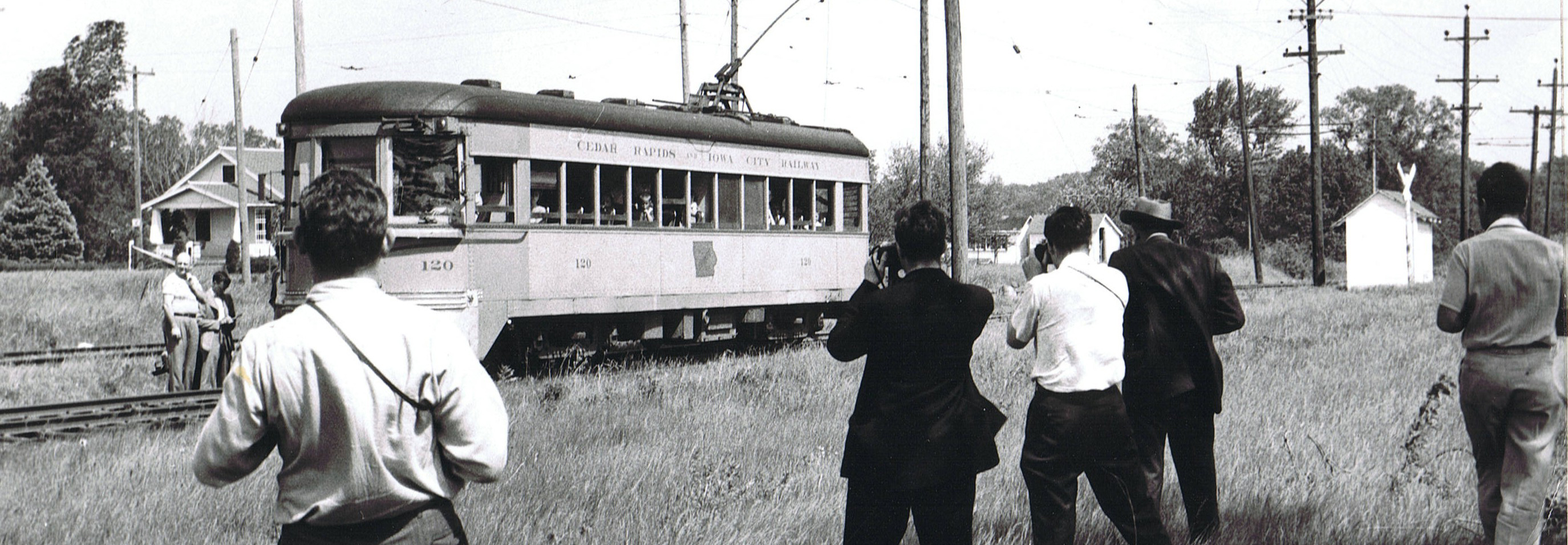 Photo of last passenger ride