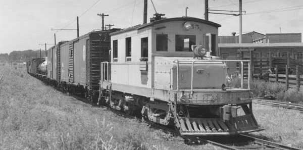 Historic CRANDIC train
